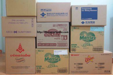 cách chọn mua thùng carton cũ giá rẻ