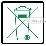 Không vứt sản phẩm vào thùng rác công cộng