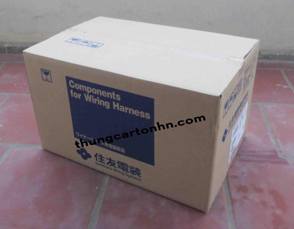 thùng carton 3 lớp components
