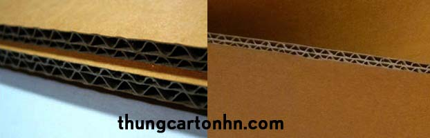 Cấu tạo hộp Carton 5 lớp