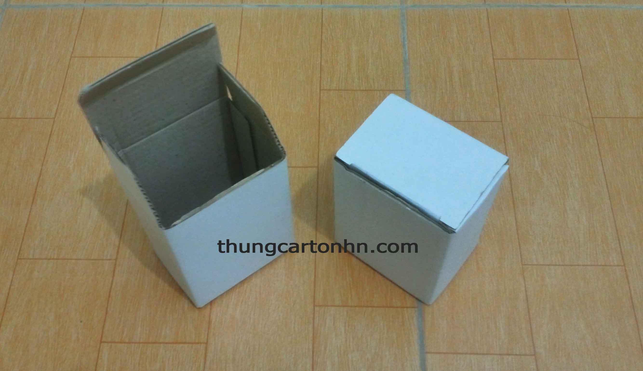 hộp carton để gói quà