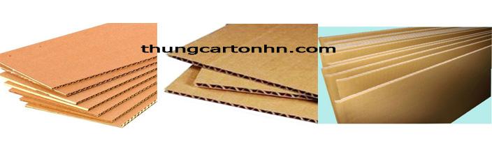 Cấu tạo thùng carton 3 lớp
