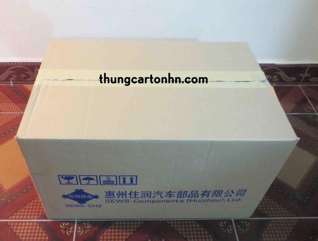 bán thùng carton 3 lớp cũ