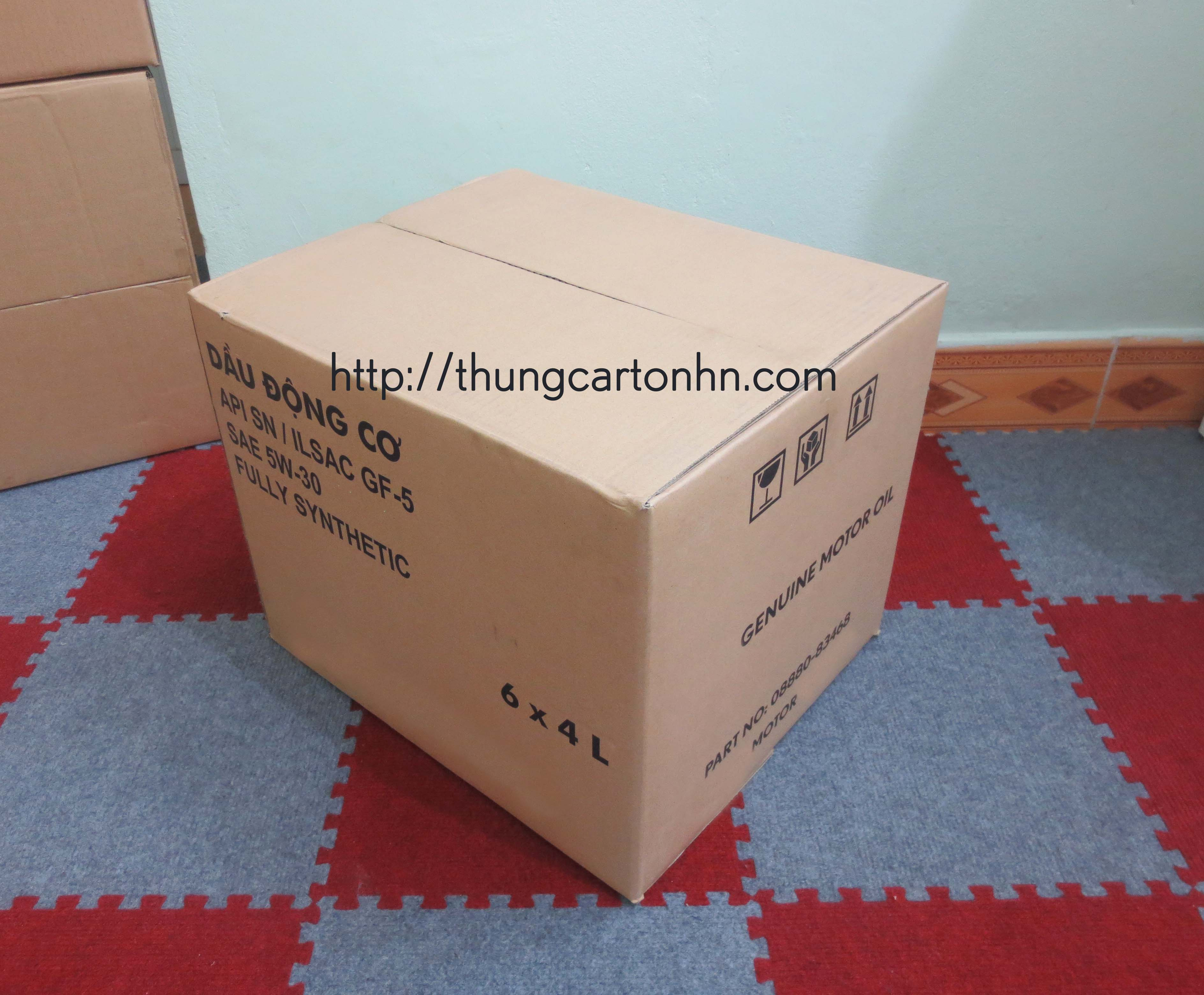 thùng carton cũ 5 lớp