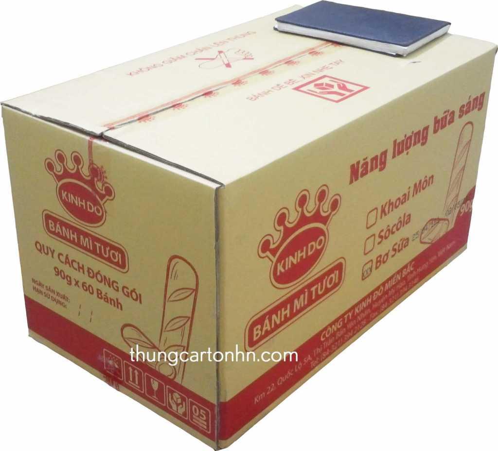 thùng carton 5 lớp kích thước 70x40x38 (cm)