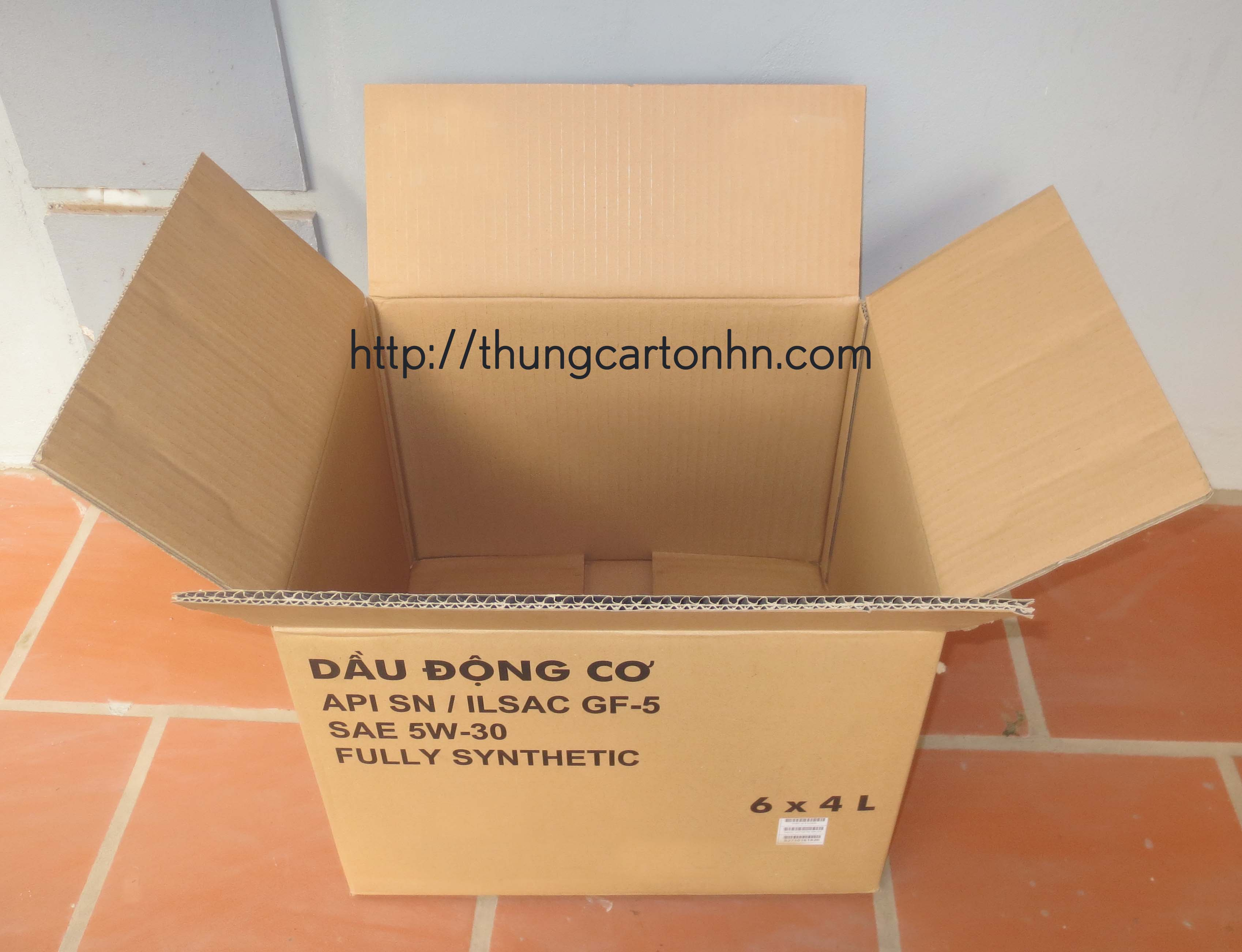 thùng carton 5 lớp cũ