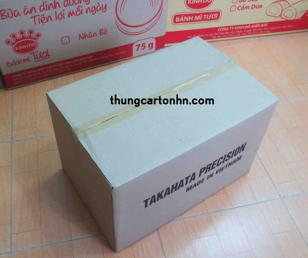 thùng carton 3 lớp TAKAHATA