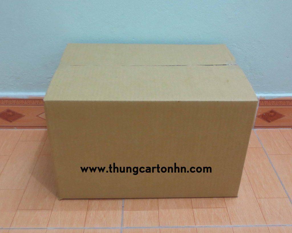 thùng carton mới kích thước 43x30x27