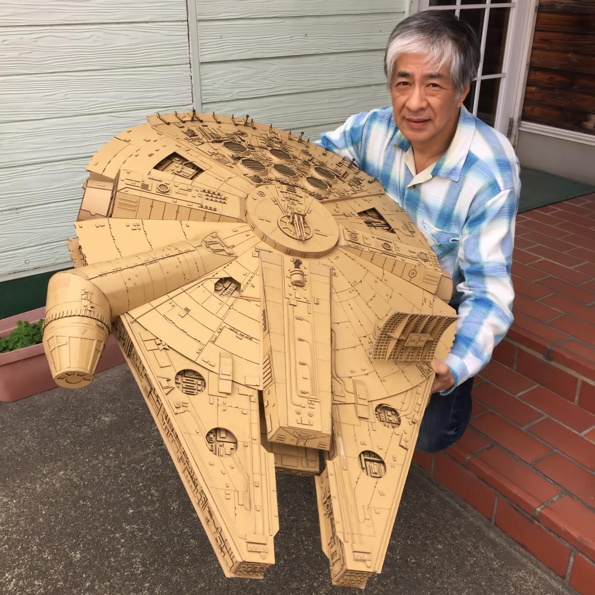 con tàu Millenium Falcon trong bộ phim Star War