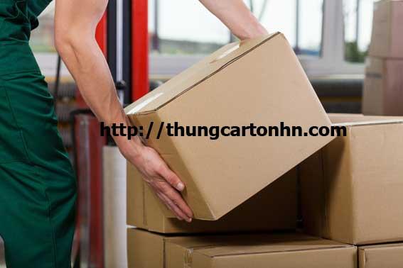 thùng carton A4 đựng hồ sơ chuyển văn phòng